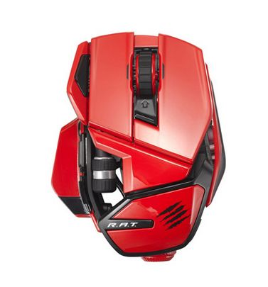 R.A.T. WL RED MOBILE MOUSE