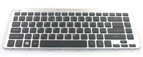 KEYBD.86K.BLK.US-INT.W/ SIL.FRAME.WIN8