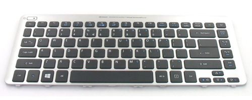 ACER KEYBD.86K.BLK.US-INT.W/ SIL.FRAME.WIN8 (60.M2SN1.027)