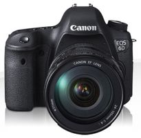 CANON EOS 6D m/24-105 IS STM 20,2 MP, Wifi, GPS, full frame (8035B125)