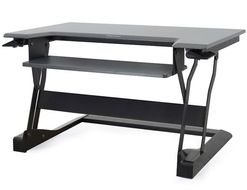 WORKFIT-T STAND TABLE TOP ERGOTRON BLACK CRTS