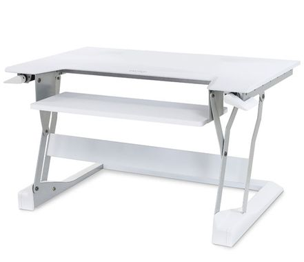 WORKFIT-T STAND TABLE TOP BRIGHT WHITE CRTS