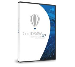 CORELDRAW TECHNICAL SUITE X7 EN/DE/FR                         IN DVD