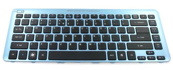 KEYBD.US-INT.103K.BLK.W/ BLUE.FRAME
