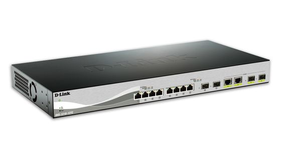 D-Link 12 Port switch incl 8x10G ports _ 4xSFP