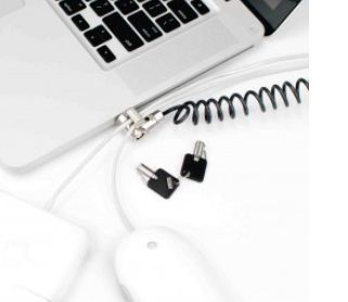 K-SLOT COILED CABLE LOCK LAPTOPS NOTEBOOKS
