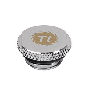 THERMALTAKE Pacific G1/4 Stop Plug w/ O-Ring - Chrome (CL-W035-CU00SL-A)