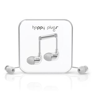 HAPPY PLUGS Happy Plugs In-Ear Silver