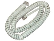 CISCO SPARE HANDSET CORD FOR 69XX 89XX & 99XX WHITE