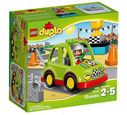 Duplo 10589 Rally Car