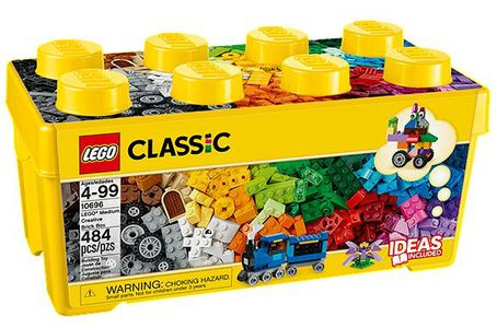 LEGO Classic 10696 Medium Creative Brick Box (10696)