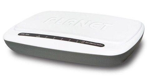 PLANET Switch 10/ 100Mbps  5-port Plast (SW-504)