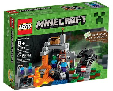 LEGO Minecraft 21113 The Cave (21113)