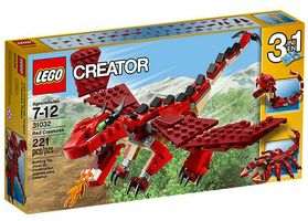 Creator 31032 Red Creatures