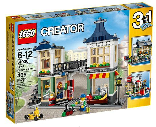 Creator 31036 Toy & Grocery Shop
