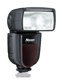 NISSIN Di700A - Blitz med hot-shoe-kobling - 54 (m) - for Sony Cyber-shot DSC-HX60, RX10, RX100; a SLT-A58; a NEX 6L, 6Y; a3000; a6000; a7; a7R; a7s (NI-HDI701S)