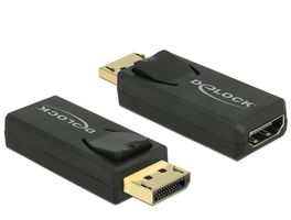 DisplayPort Adapter DP -> HDMI 4K Passiv schwarz