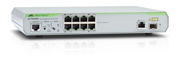 AT-FS909M-50 LAYER 2 SWITCH
