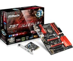 MB Z97 Killer/ 3.1 1150 ATX D-Sub/ HDMI/ DVI DDR3 retail