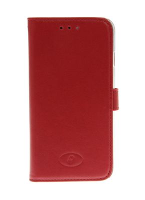 Premium Flip Case iPhone 6 Red