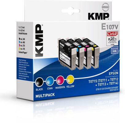 E107V Multipack BK/C/M/Y compatible with Epson T 071