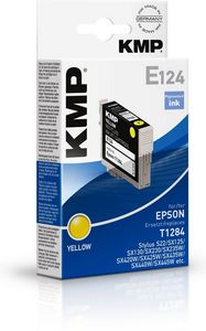 KMP E124 ink cartridge yellow (1616,4009)