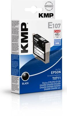 E107 ink cartridge black compatible with Epson T 071