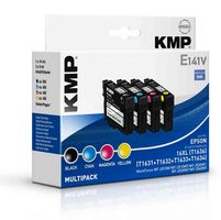 E141V Multipack BK/C/M/Y compatible with Epson T 163