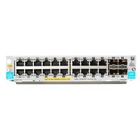 Hewlett Packard Enterprise 20-port 10/ 100/ 1000BASE-T PoE+ / 4-port 1G/10GbE SFP+ MACsec v3 zl2 Module (J9990A)