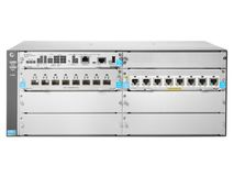 Hewlett Packard Enterprise 5406R 8-port 1/ 2.5/ 5/ 10GBASE-T PoE+ / 8-port SFP+ (No PSU) v3 zl2 Switch