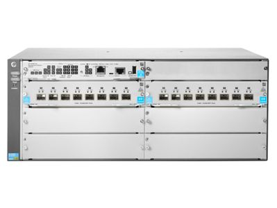 Hewlett Packard Enterprise 5406R 16-port SFP+ (No PSU) v3 zl2 Switch (JL095A)