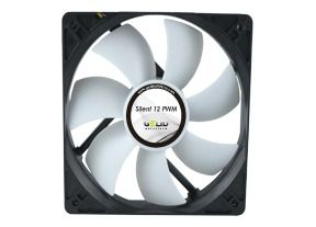 Silent 12 Case Fan with Intelligent PWM control - 120mm