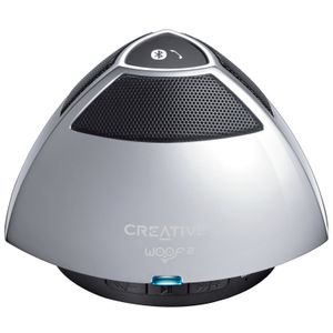 CREATIVE SPEAKER BLUETOOTH WOOF2 SILVER (51MF8215AA000)