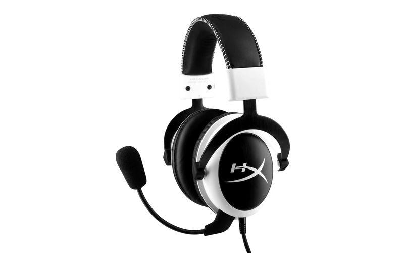 Cloud Gaming Headset, weiß/ schwarz