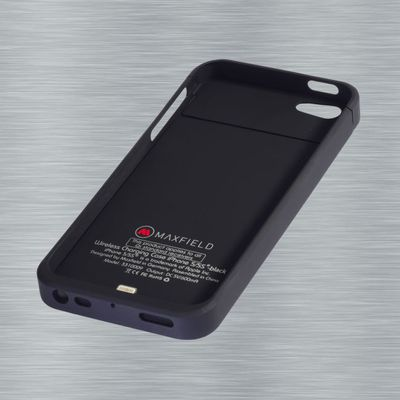 Wireless Charging Case black for iPhone 5 5s SE