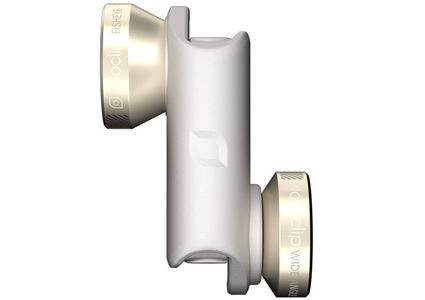 OLLOCLIP OLLOCLIP 4-IN-1 Lens iPhone 6 Gold/ White (OCEU-IPH6-FW2M-GDW)