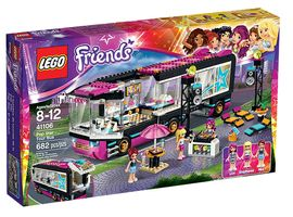 Friends 41106 Pop Star Tour Bus