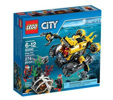 LEGO City 60092 Deep Sea Submarine (60092)