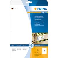 Etikett HERMA Power A4 105x148  25