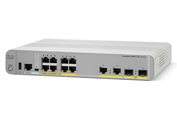 Switch/ Cat 2960-CX 8p PoE LAN Base