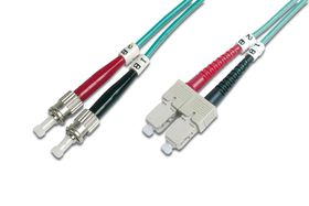 LWL MULTIMODE ST/SC PATCHCABLE GR CABL