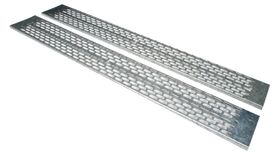 47U CABLE TRAY F.VERTICAL INST VENTED GALVANIZED RACK