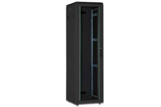 DIGITUS NW CABINET 36 HE, BLACK 1787X600X600MM (HXBXT) RACK