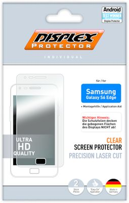 Displayschutzfolie Samsung Galaxy S6 Edge
