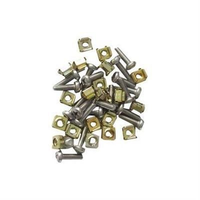Cage Nut & Screw M6, 20pcs