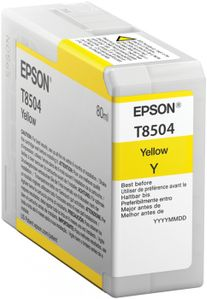 EPSON T8504 yellow ink (C13T850400*10)