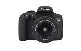 EOS 750D 18-55 STM 24,2 MP, Vari angle LCD, WiFi, Full HD Video, NFC, Digic 6