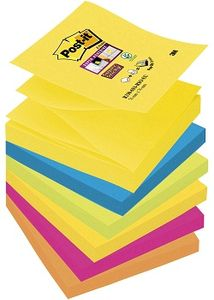 POST-IT Post-it® SuperS Z-N ass Rio 76x76mm (6) (70005251338)
