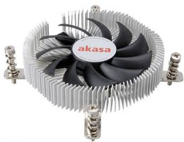 AKASA AK-CC7129BP01 Low Profile CPU-Kühler - 74mm (AK-CC7129BP01)