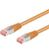 GOOBAY Patchkabel S-FTP RJ45 CAT6 PiMF Orange 2.0 m.